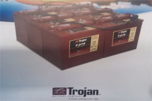 Golf Cart Accessories, Trojan Battery